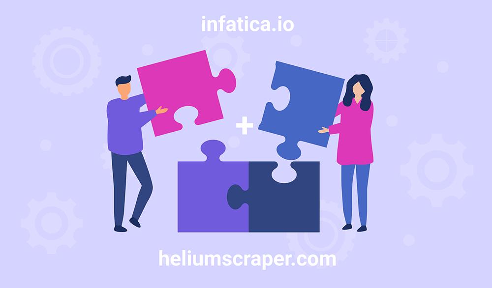 Integrating Infatica proxies into Helium Scraper