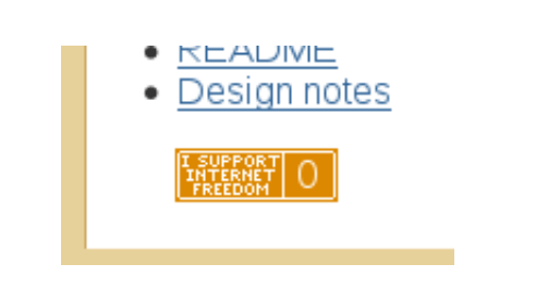 How the widget looks